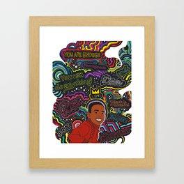 """""""The Chamer"""" Ilustration Framed Art Print"""