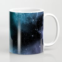 universe Mugs featuring Universe by nicky2342