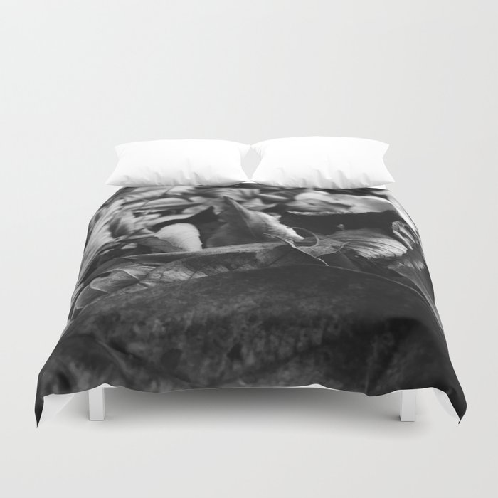 Leaves Number 2 Duvet Cover