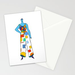 Candy Color Blocks Stationery Cards