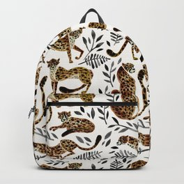 Cheetah Collection – Mocha & Black Palette Backpack