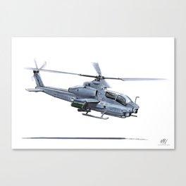 BELL AH-1Z VIPER Canvas Print
