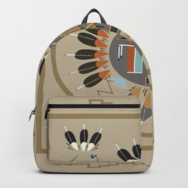 American Native Pattern No. 115 Backpack