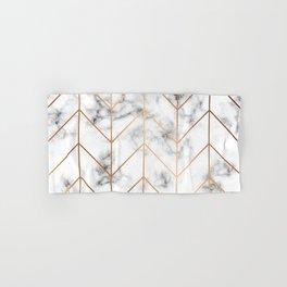 Marble Geometry 057 Hand & Bath Towel