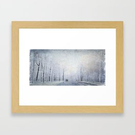 Winter 1968, the Day I was Born! Framed Art Print
