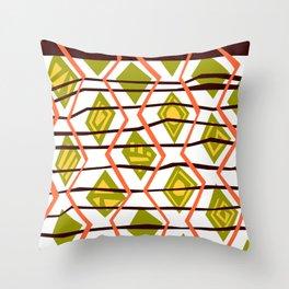A-frekk-A Throw Pillow
