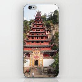Shi Bao Zhai Buddhish temple Pagoda   Pagode Temple Buddhish iPhone Skin