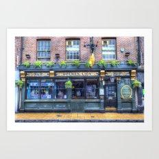 The Golden Lion Pub York Art Print