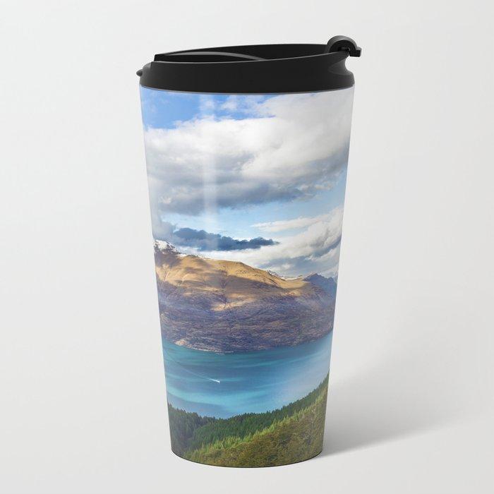 Viewtiful Metal Travel Mug