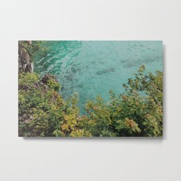 Island Waterline Metal Print