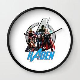 Avenger Custom Wall Clock