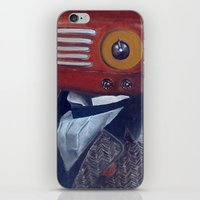 radiohead iPhone & iPod Skins featuring Radiohead by Daniela Albert