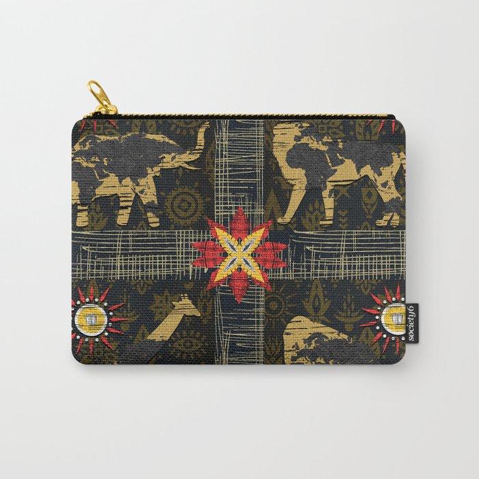 Safari World Animals Carry-All Pouch