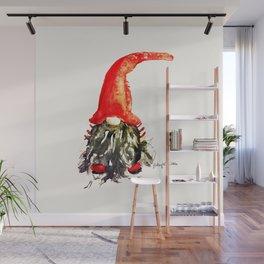 Christmas Swedish Gnome Wall Mural
