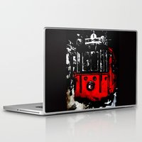 subway Laptop & iPad Skins featuring subway by gizem sevinç