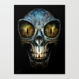 ALIEN NIGHTMARE Canvas Print