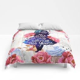 Alice in Wonderland - I'm Not Crazy Comforters