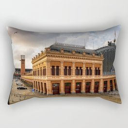 Atocha Railway Station of Madrid Rectangular Pillow