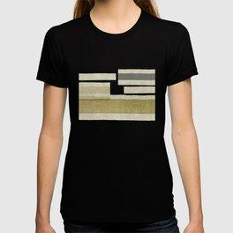 """""""Burlap Texture Natural Shades"""" T-shirt"""