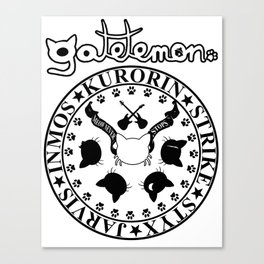 Gatetemon T shirt Canvas Print