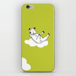 Flying Bear by McKenna Sanderson iPhone Skin