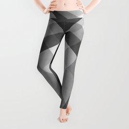 Black & White Groovy Checkerboard Leggings