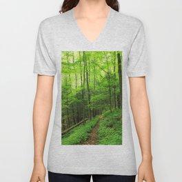 Forest 6 Unisex V-Neck