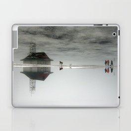Dogs & Fog Laptop & iPad Skin