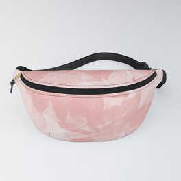 Mysterious flowers and butterflies in pink Fanny Pack