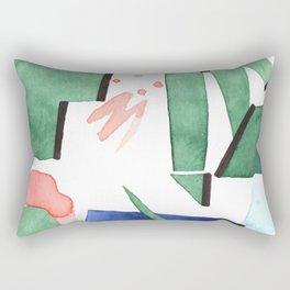 Bubblegum garden Rectangular Pillow
