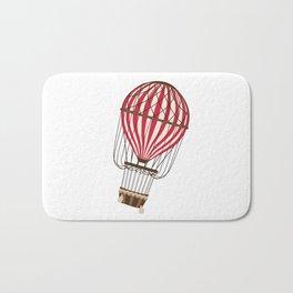 Retro Balloonist Ballooning Hot Air Balloon Pilot Gift Bath Mat