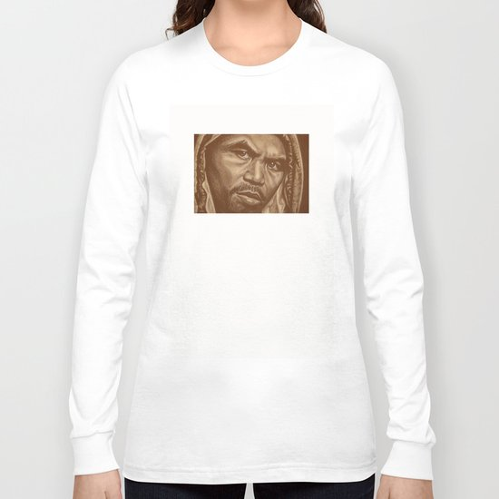 round 12..manny pacquiao Long Sleeve T-shirt