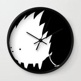 Kebab and Brush Wall Clock
