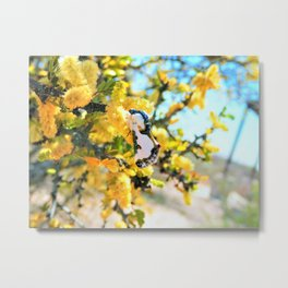 Friends with Wings Metal Print