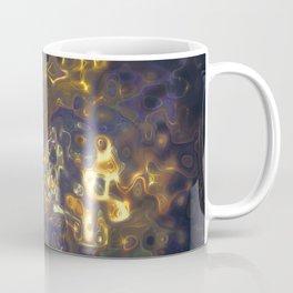 Purple Yellow Gemstone Pattern Coffee Mug