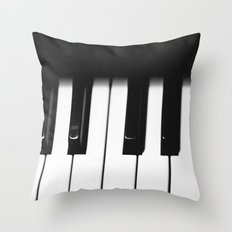 Piano Part 1 Throw Pillow
