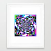 ornate Framed Art Prints featuring Ornate by David  Gough