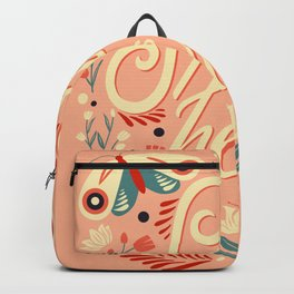 Spring is Here 002 Backpack
