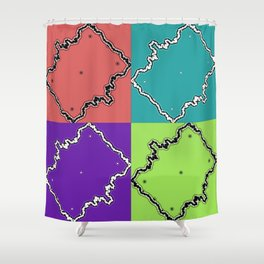 Foursome #2 Shower Curtain