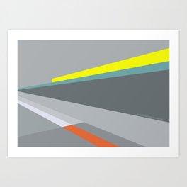 Berlin Perspectives - Erich-Weinert-Strasse / Schönhauser Allee Art Print