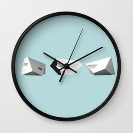 Transformations on a Cube Wall Clock