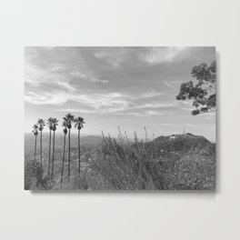 Gray in L.A. Metal Print