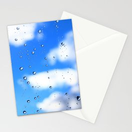 The weather emerges after rain Stationery Cards