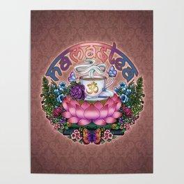 Namastea Namaste Lotus Tea Poster