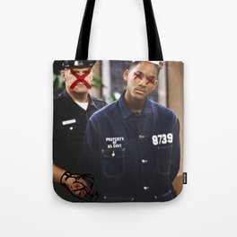"""THEY"" SEEK TO DESTROY THE KING IN U.S. Tote Bag"