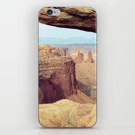 Canyonlands - Scenic Landscape Photo iPhone Skin