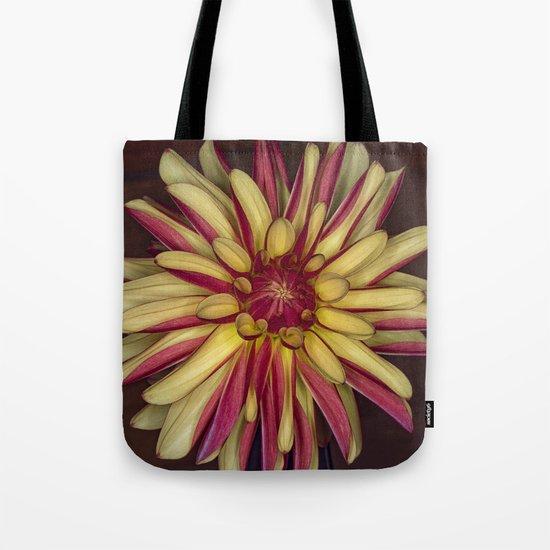 Multi colored flower Tote Bag