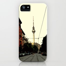 Berlin Retro iPhone Case