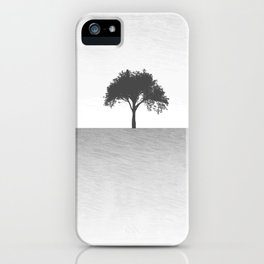 Tree Artwork Landscape iPhone Case