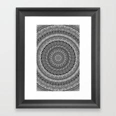 Me and my Mandala Framed Art Print